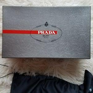 Prada box and dusters